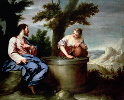 Cano, Jesus and the Samaritan Woman