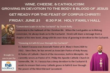 Wine-Cheese-Catholicism Publicity (June 2019)