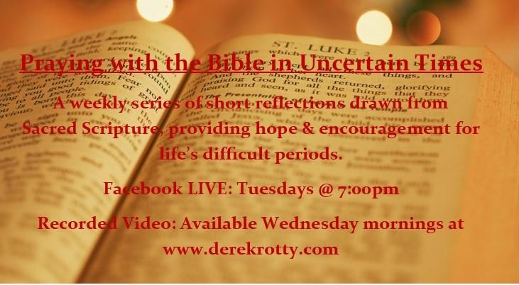 Bible-Uncertain Times Publicity